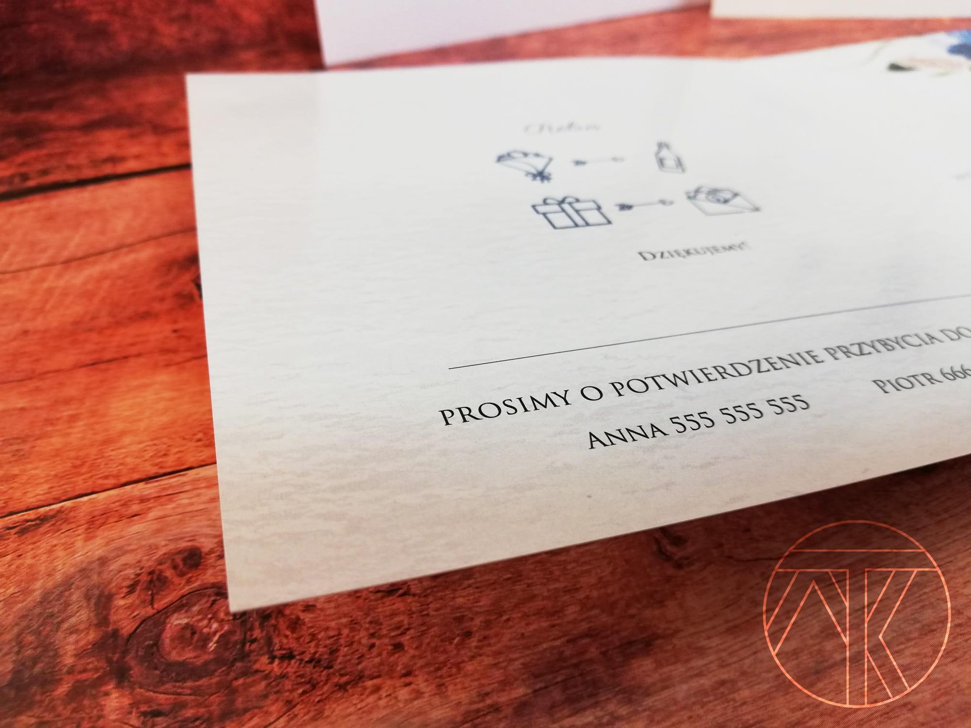 Wspaniały Eleganckie zaproszenia rocznicę ślubu rocznica 25 30 40 50 LN82
